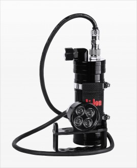 4TEC Head + Accu 4.4-7.8Ah Sidemount Backmount Factory Refurbished